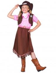 Sheriff-Kostüm für Mädchen