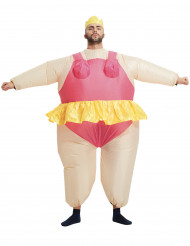 Herrenballett dicke Ballerina JGA-Kostüm