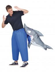 Aufblasbares Hai Kostüm für Erwachsene