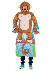 Affe auf einem Baum Kostüm für Erwachsene
