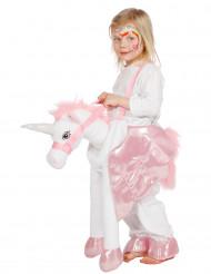 Einhorn Carry me Kostüm für Kinder