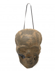 Deko leuchtender Mumienschädel
