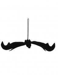 Deko Schwarze Fledermaus zum Aufhängen