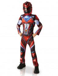 Kostüm Power Rangers™rot für Kinder
