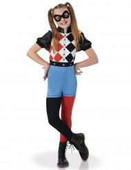 Harley Quinn™ Superhero Girls Kinderkostüm für Mädchen Lizenzartikel