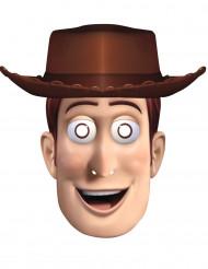Toy Story Woody™-Maske Cowboy-Maske für Fasching beige-braun