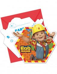 Bob der Baumeister™ Einladungen und Umschläge 6 Stück