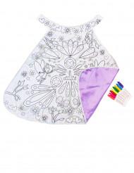 Feen-Umhang mit Textilfarben für Kinder