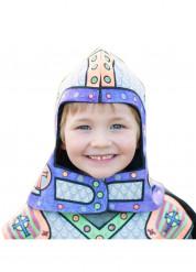 Helm für Kinder zum selbst bemalen mit wasserlöslichen Stiften