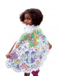 Märchen-Umhang zum selbst bemalen für Kinder