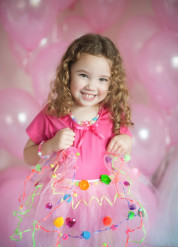 Süsser Petticoat für Mädchen bunt