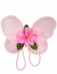 Süsse Feenflügel für Mädchen rosa
