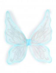 Schmetterlingsflügel mit silbernen Pailletten
