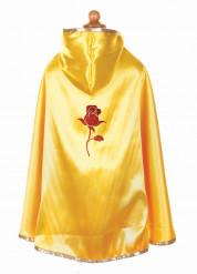 Prinzessinen Umhang für Mädchen gelb
