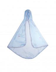 Hochwertiger Tüllumhang für Mädchen blau