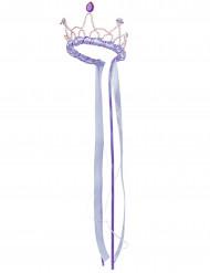 Prinzessinnen Krone für Mädchen Mittelalter lila
