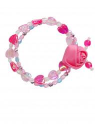 rosa Armband für Mädchen