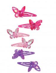 2 Schmetterlingshaarklammern
