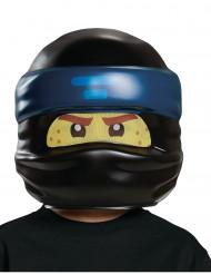 Jay Ninjago® LEGO® Kinder-Maske Lizenz schwarz-blau