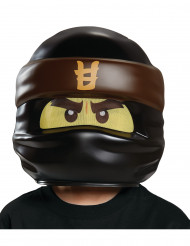 Cole Ninjago® LEGO® Lizenz Kinder-Maske braun-schwarz