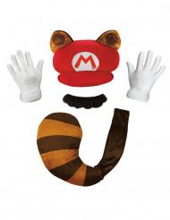 Super Mario™ Waschbär Set für Erwachsene Nintendo™