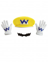 Nintendo™ Wario Kostüms-Set Lizenzartikel