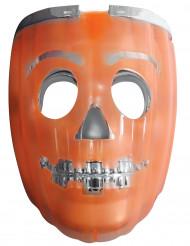 Hockey-Maske Kürbis 2 in 1 für Erwachsene