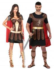 Paarkostüm Gladiatoren für Erwachsene