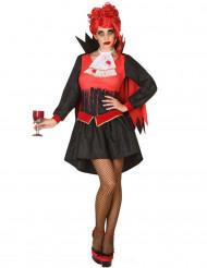 Blutender Vampir - Kostüm für Damen