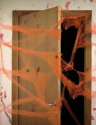 Oranges Spinnennetz mit Spinnen 20 g
