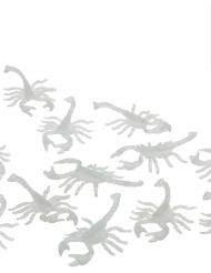 12 phosporeszierende Skorpione 7cm