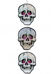 Hängende Skelette Raumdekoration 55 cm