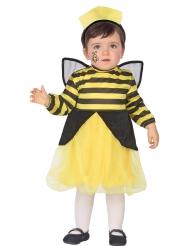 Süsse Biene Tier-Verkleidung für Kleinkinder schwarz-gelb