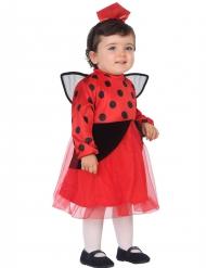 bezauberndes Marienkäfer-Kostüm für Kleinkinder rot-schwarz