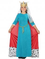 Mittelalterliche Königin - Kostüm für Mädchen