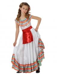 Mexikanerin - Kostüm für Mädchen