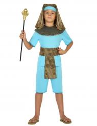 Pharao Kinderkostüm blau