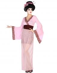 Geisha Kostüm rosa