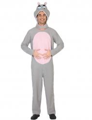 Kostüm Nilpferd für Erwachsene