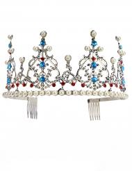Prinzessinnen-Krone mit Perlen