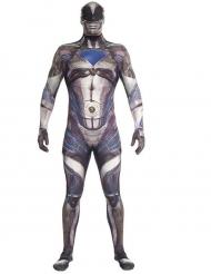 Power Ranger™ Morphsuits für Erwachsene schwarz