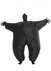 Aufblasbarer Morphsuits™ mit Licht Funktion schwarz