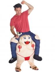 Carry-Me Kostüm Gogo-Tänzerin kostüm für Erwachsene