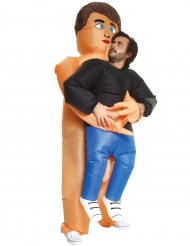 Kostüm Mann von Nudisten getragen Morphsuits™