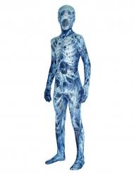 Mumien-Kostüm Morphsuits™ mit Spinnen für Kinder