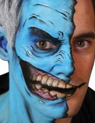 Temopäres Gesichtstattoo - verstohlenes Lachen