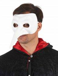 Lange Nasenmaske weiss