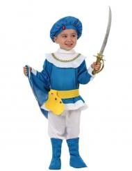 Süsses Prinzen-Kostüm für Kinder blau