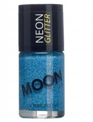 Moonglow © Nagellack mit Glitzer blau