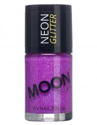 Moonglow © Nagellack mit Glitzer lila